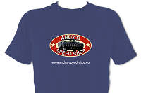 Andy's Speed Shop T-shirt