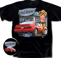 Fox Body Pin-up shirt