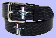 Mustang Leather Belt
