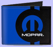 Canvas Mopar Wallet