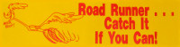 Roadrunner Bumper Sticker